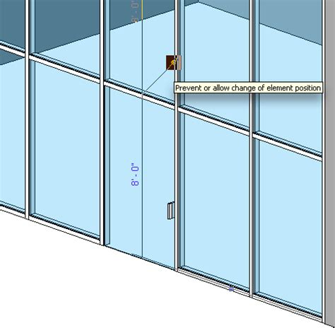 door in curtain wall cre8ivethings revit totd 6 10 09 curtain walls 4