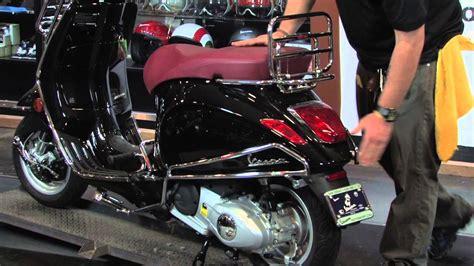 vespa primavera 150 with faco accessories