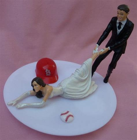 Wedding Cake Topper St. Louis Cardinals Saint Cards G