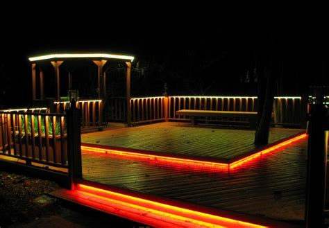 best solar deck lights 15 alluring deck lighting ideas with pictures homes