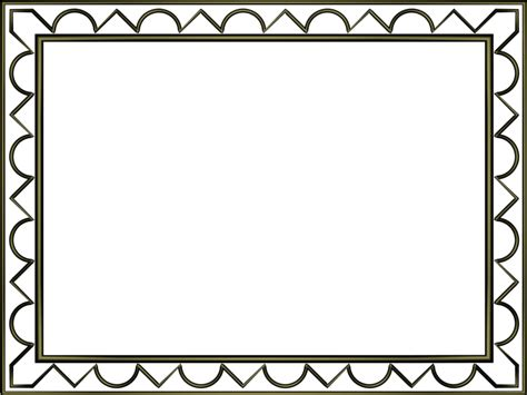 border designs coloring pages borders in powerpoint shiny black artistic loop triangle