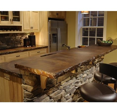 concrete bar tops cases bar and islands on pinterest