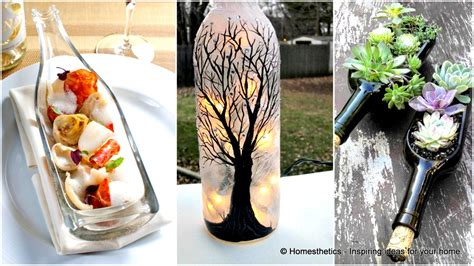 diy glass bottle crafts 44 diy wine bottles crafts and ideas on how to cut glass