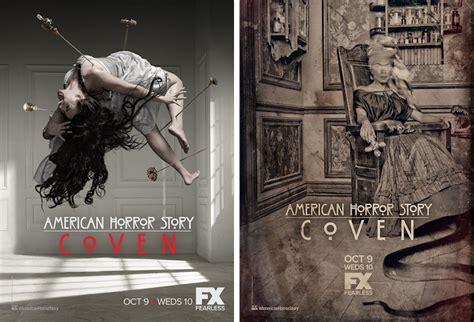 american horror story coven unleashes four new posters comingsoon net horror focus check out this set of fantastic new posters for american horror story coven