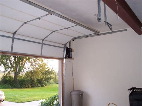 Garage Door Rails Garage Garage Door Rail Home Garage Ideas