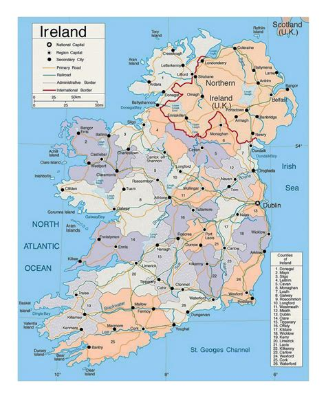 Search In Ireland Major Cities In Ireland Images