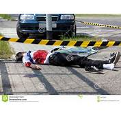 Man Died In A Car Accident Stock Photo  Image 44179957