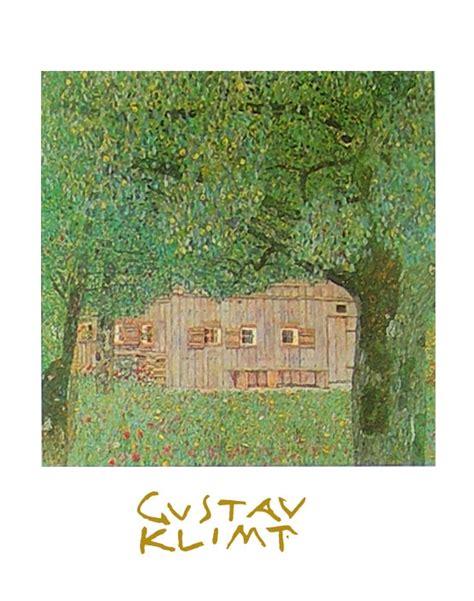 Kunstdrucke Bestellen by Gustav Klimt Oberoesterreichisches Bauernhaus Poster