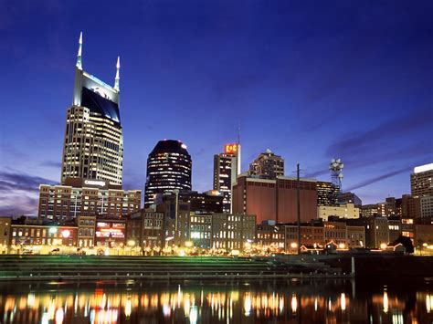 nashville tennessee free hq downtown nashville at twilight tennessee wallpaper
