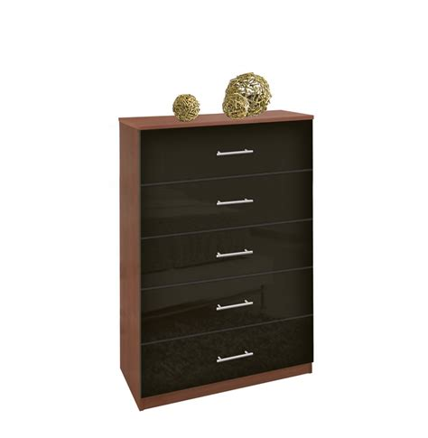 Dresser Or Chest Of Drawers by Modern Tallboy Dresser 5 Drawer Chest Of Drawers