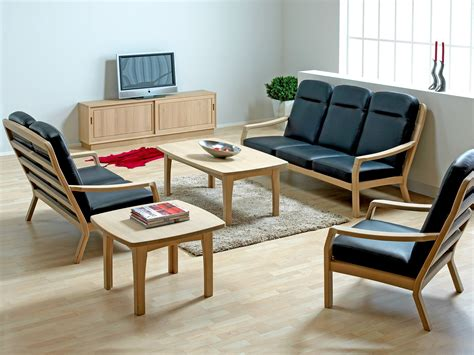 Sofa Sets For Small Living Rooms by Wooden Sofa Set Designs For Small Living Room Modern House