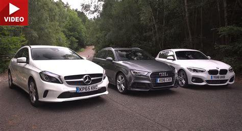 Audi A3 Baureihen by Mercedes A Class Vs Bmw 1 Series Vs Audi A3 In Battle Of