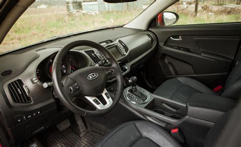 kia sportage interior 2014 car and driver