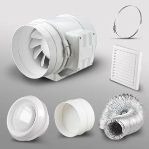 powerful bathroom fan high power in line bathroom extractor fan kit 4 quot fantronix limited