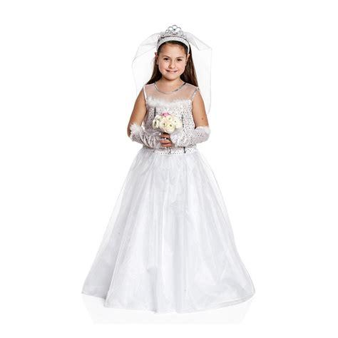 Brautkleider Kinder by Braut Kost 252 M Kinder Brautkleid Schleier Krone
