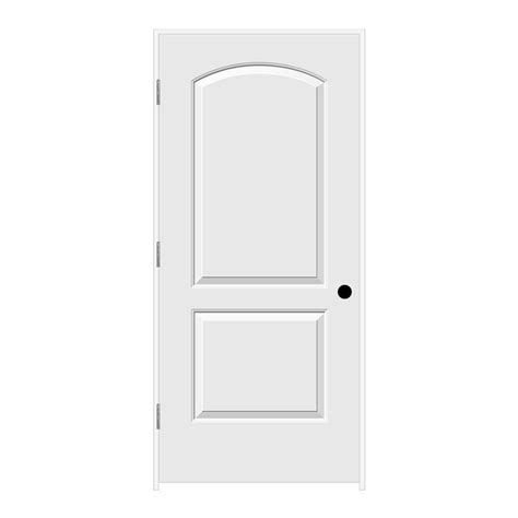 32x78 Exterior Door Jeld Wen 32 In X 78 In Continental Primed Right Smooth Molded Composite Mdf Single