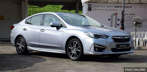 subaru impreza malaysia subaru bakal til model plug in hybrid tahun ini