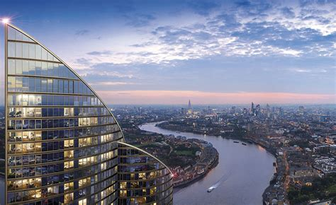 spire london tallest residential building  west europe