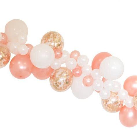 Rose gold balloon cloud garland kit candle amp cake party shop