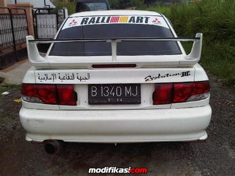 mitsubishi lancer gti cover evolution iii dijual