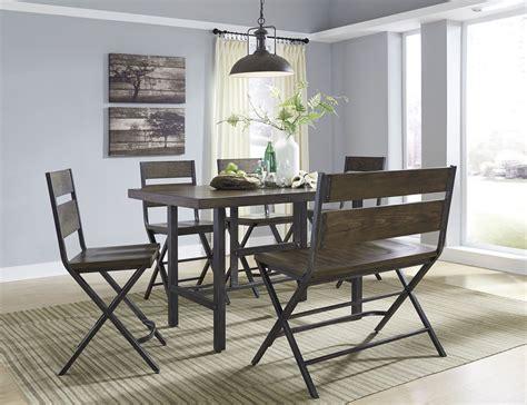 13 dining room set kavara medium brown rectangular counter dining room set