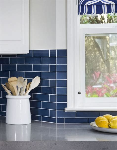 blue subway tile backsplash blue subway tile backsplash ideas interior designs