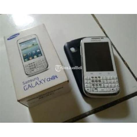 Hp Samsung Android Second handphone qwerty android samsung galaxy chat gt b5330 second harga murah jakarta barat