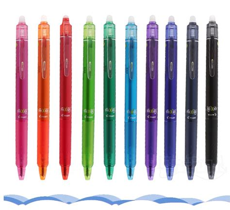 Press Gel Pen 0 5mm pilot pens magical erasable press gel pen 0 5 mm stainless