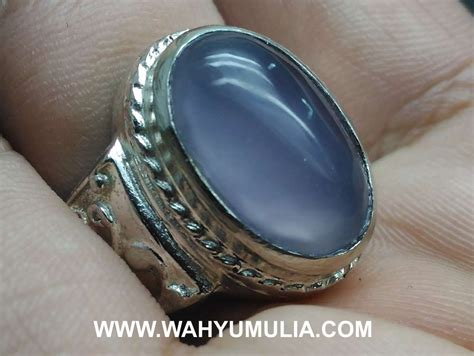 Spritus Muda Anggur batu cincin akik biru langit anggur spirtus asli kode 591
