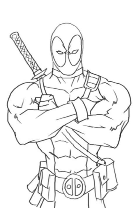 deadpool coloring pages for boys coloring pages for toddlers