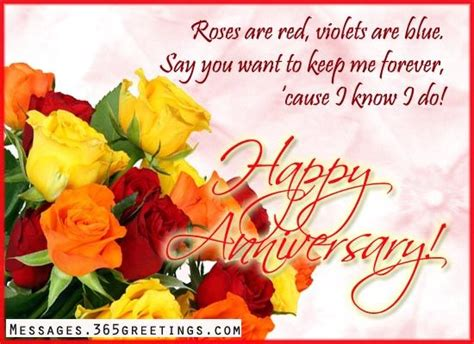 Wedding Anniversary Card Messages by Wedding Anniversary Wishes And Messages Wedding