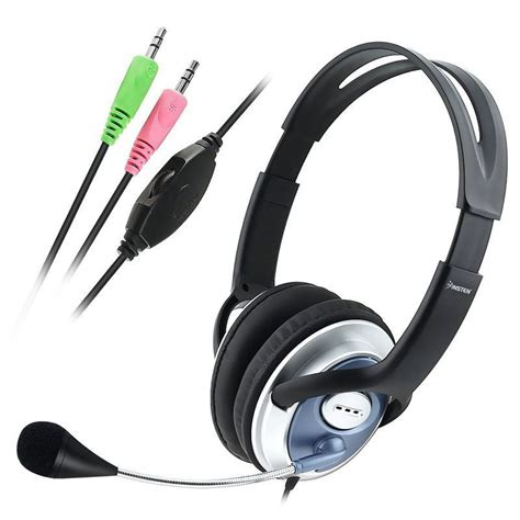 Headset Pc Stereo Headset With Microphone For Pc Computer