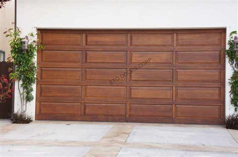 wood panel garage doors raised panel wood garage door panel design ranch