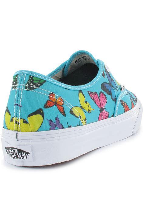 vans authentic slim butterfly shoe scuba blue buy