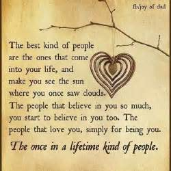 Thank You Letter Friend Quotes The Once In A Lifetime Kind Of People Quotes Sayings