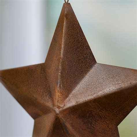 rustic star home decor primitive dimensional barn star ornament wall decor