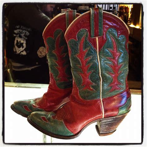 vintage cowboy boot l retro cowboy boots yu boots