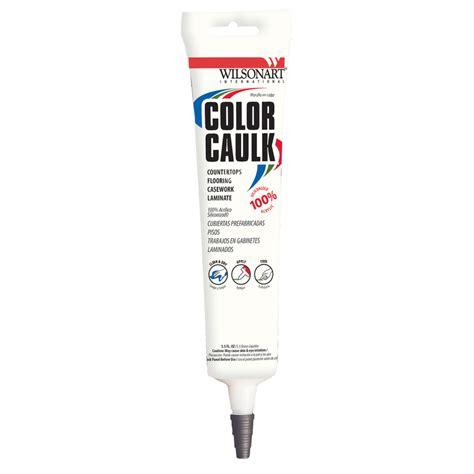 Colored Bathroom Caulk shop wilsonart shaker cherry paintable siliconized acrylic kitchen and bathroom caulk at lowes