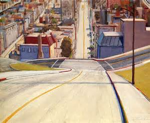 san francisco road wayne thiebaud artist pop