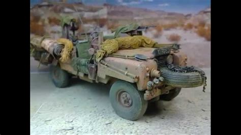 land rover tamiya s a s land rover pink panther tamiya model kit 1 35 youtube