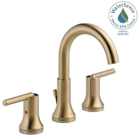 Faucet Colors by Delta Trinsic 8 In Widespread 2 Handle Bathroom Faucet