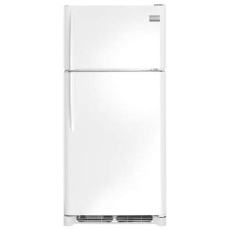 frigidaire gallery 18 1 cu ft top freezer refrigerator