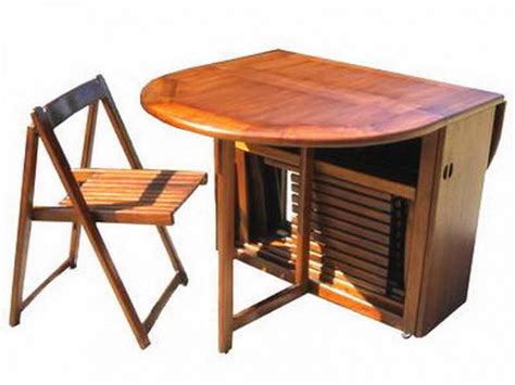 Foldaway Dining Table by Dining Table With Fold Away Chairs Alphatravelvn