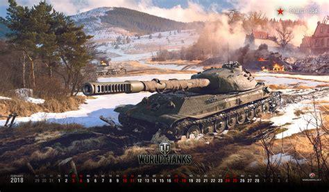 Plánovací Kalendář Na Rok 2018 Wallpaper For February 2018 General News World Of Tanks