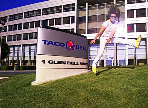 Taco Bell Corporate Office andrew w k news andrew invited to taco bell s headquarters