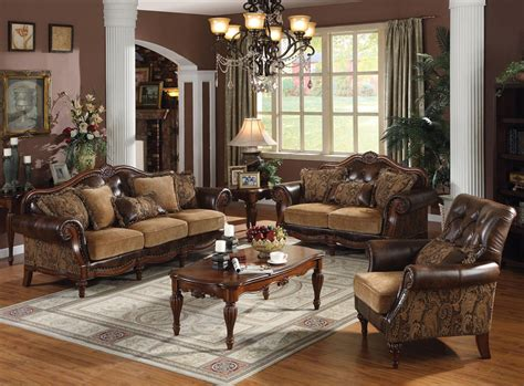 Tuscan Living Room Furniture Traditional Sofa Ac 49 Traditional Sofas