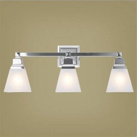 Bathroom Vanity Light Fixtures Chrome Livex 3 Light Mission Bathroom Vanity Lighting Fixture Chrome White Glass Ebay