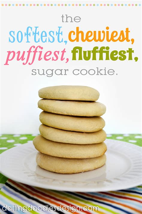 printable recipes for sugar cookies the yummiest sugar cookie a baby shower darling doodles