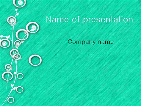 download free white circles powerpoint template for