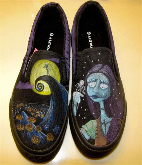 Nightmare Before Sandals by Nightmare Before Shoes By Gearheartfactory On Etsy